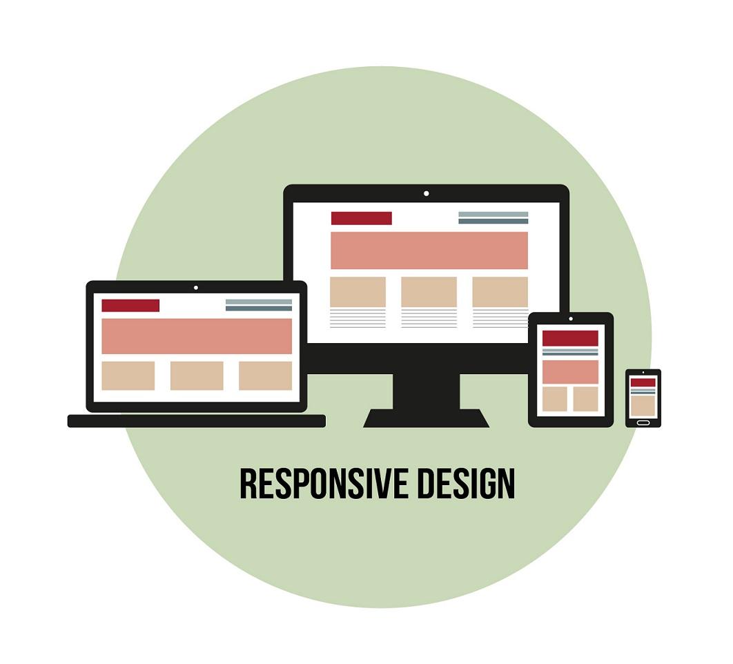 Zeichnung Responsive Webdesign