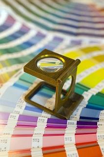 Farbauswahl für den Druck